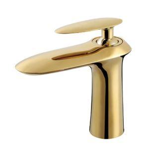洗面蛇口 バス水栓 冷熱混合栓 立水栓 水道蛇口 手洗器水栓 金色
