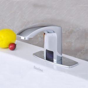 センサー水栓 自動水栓 洗面蛇口 単水栓 DC6V