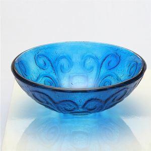 洗面ボウル 手洗い鉢 洗面器 手洗器 洗面ボール 洗面台 ガラス 排水金具付 オシャレ VT5004