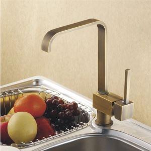 キッチン蛇口 台所蛇口 冷熱混合栓 水道蛇口 水栓金具 ブラス