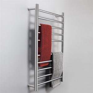 壁掛けタオルウォーマー バスヒーター タオルハンガー+簡易乾燥 ステンレス鋼 90W