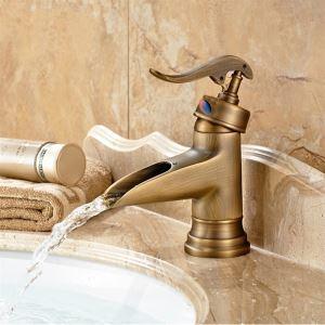 バス水栓 洗面蛇口 混合水栓 水道蛇口 ブロンズ色