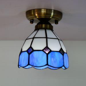 シーリングライト ステンドグラスランプ ティファニーライト 天井照明 1灯