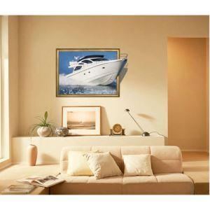 3Dウォールステッカー 転写式ステッカー 立体DIY PVCシール シート ヨット柄 WS02019