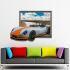 3Dウォールステッカー 転写式ステッカー 立体DIY PVCシール シート くるま柄 WS02094