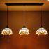 ティファニーライト ペンダントライト ステンドグラスランプ 照明器具 食卓照明 店舗照明 3灯 ST08001B