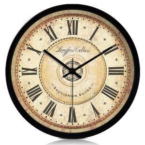 時計 壁掛け時計 静音時計 北欧 地中海風 インテリア