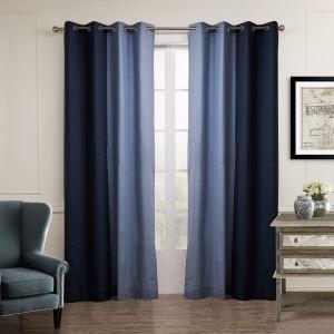 遮光カーテン オーダーカーテン 北欧カーテン 2色組み 無地柄 麻&綿(1枚) GT053