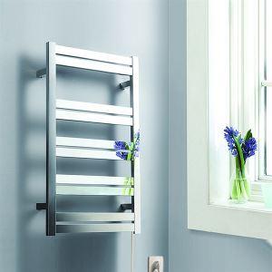 壁掛けタオルウォーマー タオルヒーター タオルハンガー+簡易乾燥 ステンレス鋼 125W