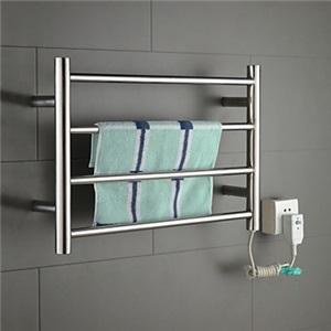 壁掛けタオルウォーマー バスヒーター タオルハンガー+簡易乾燥 ステンレス鋼 40W