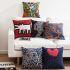 クッションカバー 抱き枕カバー 枕カバー 北欧 リネン Keith Haring名画 7点