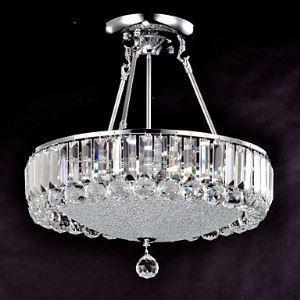 シーリングライト 照明器具 リビング照明 寝室照明 クリスタル付き 姫系 オシャレ 6灯