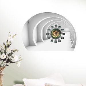3D壁掛け時計 3Dデコレ壁掛け時計 DIYデコレ時計 静音時計 四次元柄