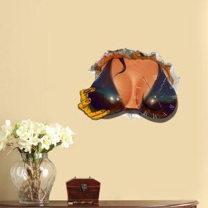 3D壁掛け時計 3Dデコレ壁掛け時計 DIYデコレ時計 静音時計 セックスアピール柄