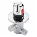 サーモスタット混合水弁 温度調整栓 混合バルブ(0599QH0211D)