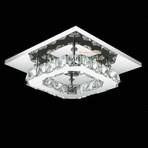 LEDシーリングライト 玄関照明 天井照明 照明器具 クリスタル オシャレ
