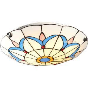 シーリングライト ステンドグラスランプ ティファニーライト 天井照明 3灯 D40cm