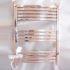 壁掛けタオルウォーマー タオルヒーター タオルハンガー+簡易乾燥 #304ステンレス鋼 クロム 110W