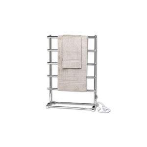 自立式タオルウォーマー タオルヒーター タオルハンガー+簡易乾燥 #304ステンレス鋼 クロム 60W