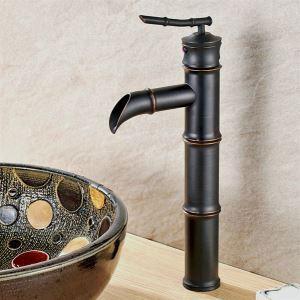 洗面蛇口 バス水栓 冷熱混合栓 水道蛇口 筍形 ORB LK2091