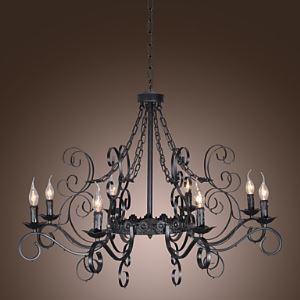 シャンデリア 照明器具 リビング照明 ダイニング照明 寝室照明 店舗照明 北欧風 8灯