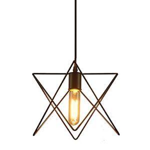 ペンダントライト 北欧照明 天井照明 星star型 ビンテージ 1灯