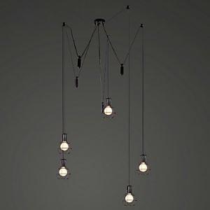 ペンダントライト 天井照明 照明器具 ビンテージ照明 店舗照明 工業Loft 5灯