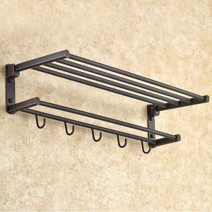 浴室タオルラック タオル掛け タオル収納 壁掛けハンガー バスアクセサリー アンティーク YWA002