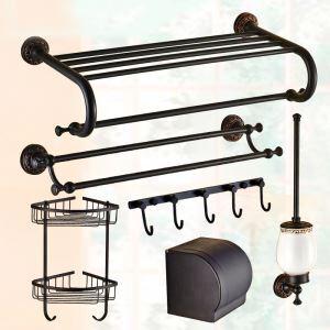 バスアクセサリーセット 浴室用品 真鍮製 ORB 6点セット