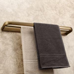 浴室二重タオルバー タオル掛け タオル収納 壁掛けハンガー バスアクセサリー YWA054