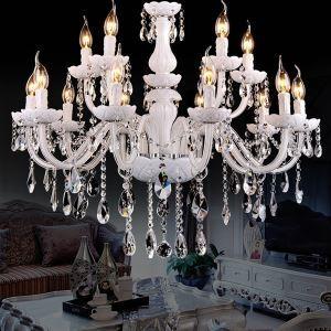 シャンデリア リビング照明 照明器具 吹き抜け照明 ダイニング 寝室 店舗 クリスタル オシャレ 白色 12灯 LED電球対応 LT347478